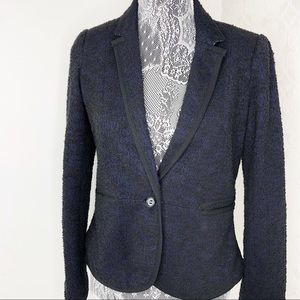 Anthropologie Cartonnier Blue & Black Blazer